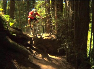 Greg Minnaar Leaping Logs