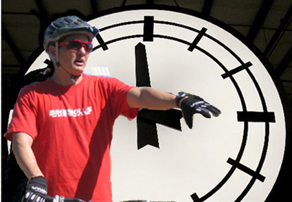 Roll back those clocks, not your riding!