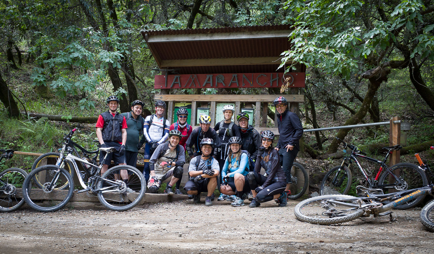 A Bikeskills Clinic at Tamarancho