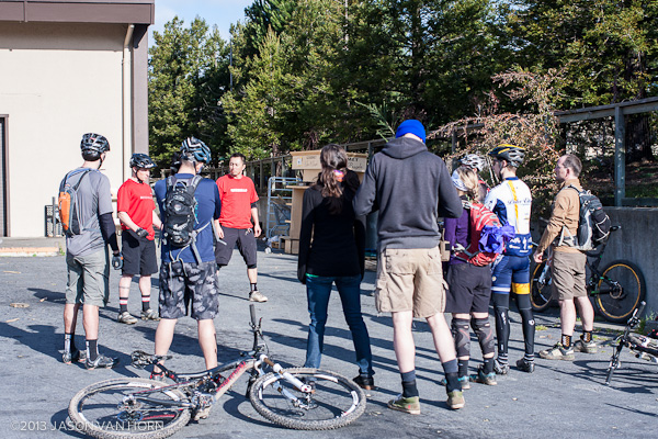 Post image for February 3rd, 2013 Mountain Bike Skills Clinic Gallery