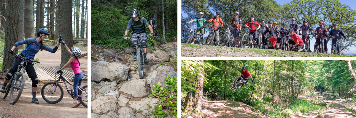 Portland mountain biking lessons